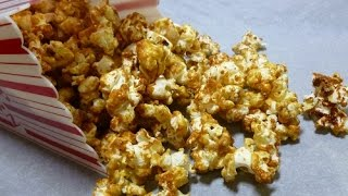 Caramel Popcorn and Peanuts Recipe for Valentine's Day