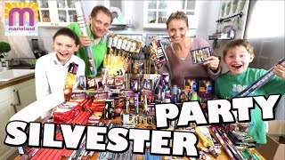 Silvester 2017 / 2018 👨‍👩‍👧‍👦   unsere Party Teil 1 😍 Marieland Vlog #155