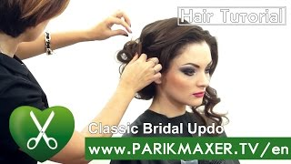 Classic Bridal Updo. parikmaxer TV USA