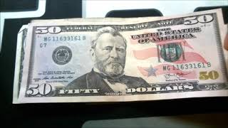 $50 Trinary! Bill Searching for Rare Bank Notes and Serial Numbers
