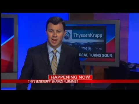 ThyssenKrupp Shares Plummet
