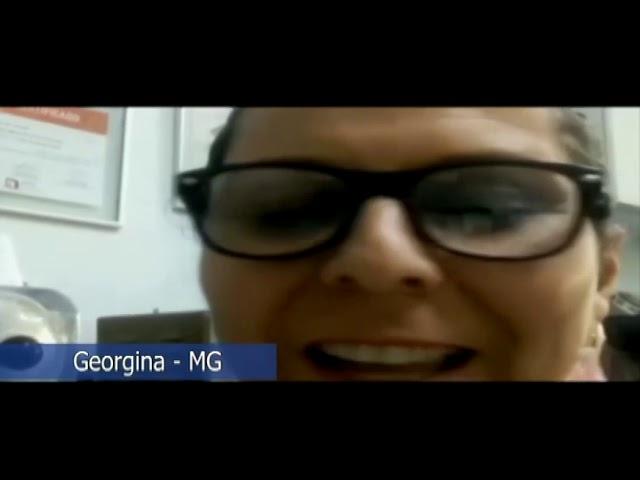 Amigos do Papo: Netinha Gigi e Georgina.