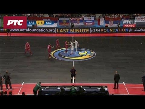 FUTSAL: Srbija Kazahstan 2 : 5
