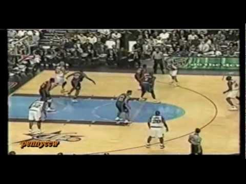 Allen Iverson Highlight vs Knicks 98/99 NBA *76ers had a very tough defensive effort back then
