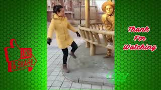 Street Troll   Must Watch New Funny  Part 1   Can't stop laughing【Laugh torn mouth】