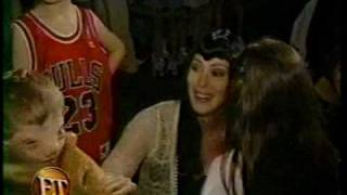 Cher - ET Interview (1999) Backstage Opening Night of Believe Tour