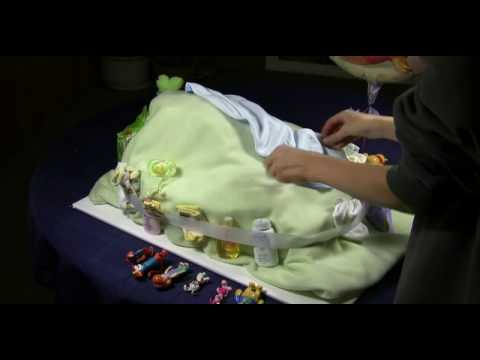 Diaper Cake  Baby Shower Winnie the Pooh Diaper Cake
