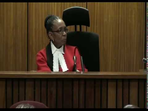Oscar Pistorius Pre-Sentencing Arguments: Monday 13 October 2014, Session 3