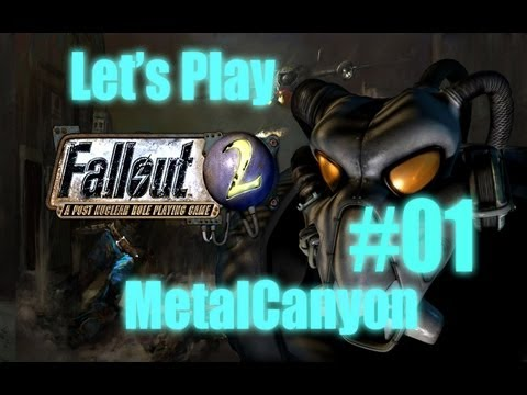 Let's Play Fallout 2 (part 1 - Chosen One)