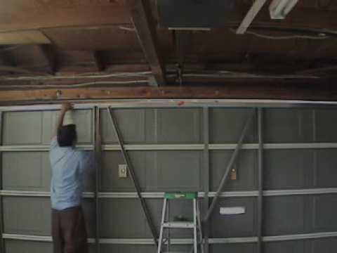 Garage Door Reinforcement Struts