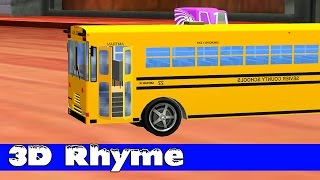 Wheels On The Bus Go Round And Round ☜♥☞ Nusery Rhyme ☜♥☞ Wheels On The Bus Song