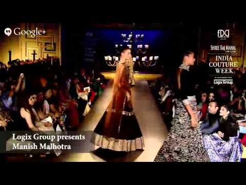 Logix Group Presents Manish Malhotra #ICW2014