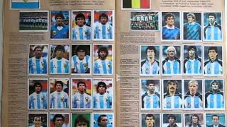 ALBUM DE ESTAMPAS MUNDIAL MEXICO 86