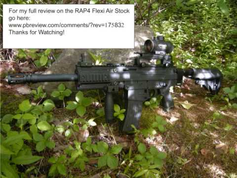 Tippmann X7 With Rap4 Flexi Air Stock
