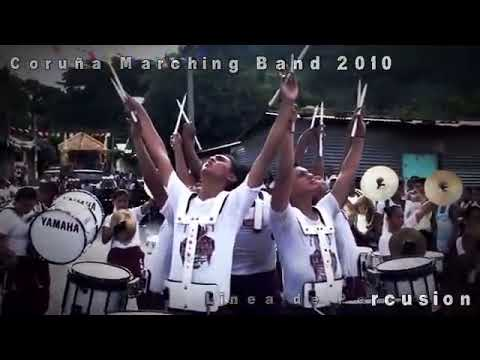 Coruña Marching Band 2010 - Linea de Percusion