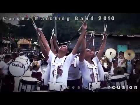 Coruña Marching Band 2010 - Linea de Percusion