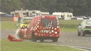Giles Lock huge crash VW Cup at Castle Combe 2005