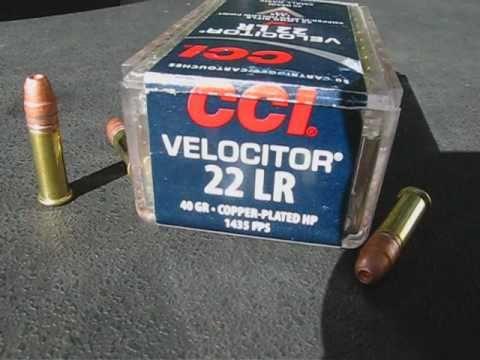 22 LR Handgun vs. Rifle Comparison - CCI Velocitor