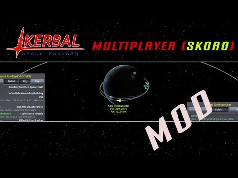 Kerbal Space Program   Plugin: LiveFeed