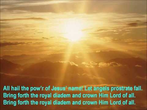 Oliver Holden - All Hail The Power Of Jesus Name