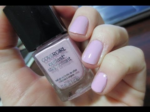 Covergirl Outlast Nail Polish {First Impressions + Application}