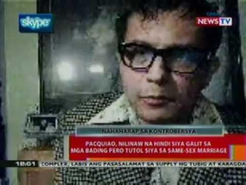 BT: Manny Pacquiao, nag-sorry sa mga nasaktan sa kanyang pahayag tungkol sa ...