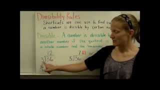 Divisibility Rules Part 1