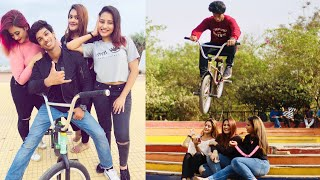 Stunning Stunts With India's National level BMX Gold Medalist - Yusuf BMX