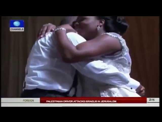 Rochas Okorocha Throws Colourful Wedding Party For Daughter, Uju