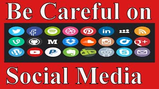 [Hindi]Don't give these informations on social media/Never upload on social network/safe bank a/c