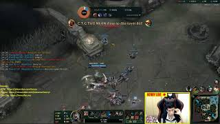 [Henry Live LOL] rank kc với Vinh Sun