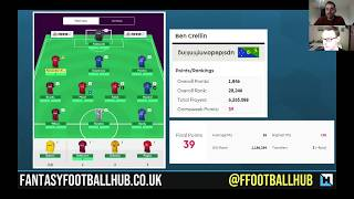 FPL Tips for Double Gameweek 32 from Fantasy Football Hub and Ben Crellin