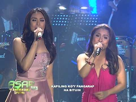 Sarah Geronimo sings on 'ASAP' stage again