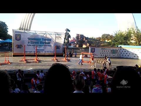 Чемпионат Украины по Street Workout 2016 ч.37 - Результаты соревнований