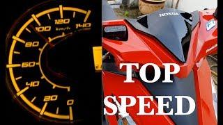 Honda Beat Top Speed