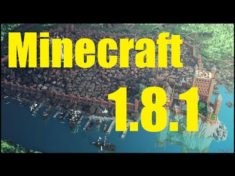 DESCARGAR | MINECRAFT 1.8.1 ACTUALIZABLE PARA PC [WIN, MAC Y LINUX] GTRATIS 100% FREE