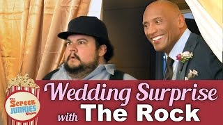 Dwayne 39 The Rock 39 Johnson 39 S Wedding Surprise