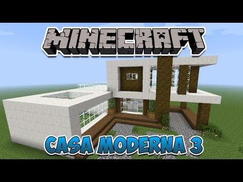 Minecraft: Construindo uma Casa Moderna 3