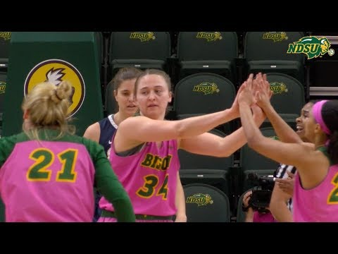 NDSU Women's Basketball Falls to Oral Roberts 65-54