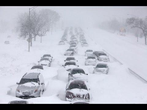 Аномальный снегопад в Москве