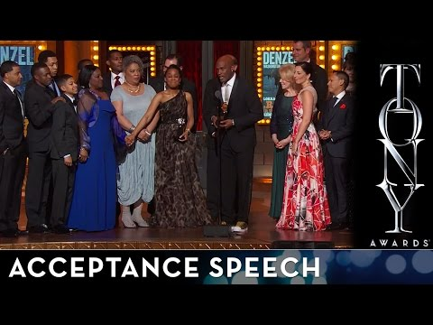 2014 Tony Awards: Acceptance Speech - A Raisin in the Sun