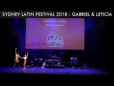 SYDNEY LATIN FESTIVAL 2018 - GABRIEL & LETICIA