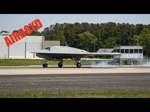 X-47B Landing Pax River