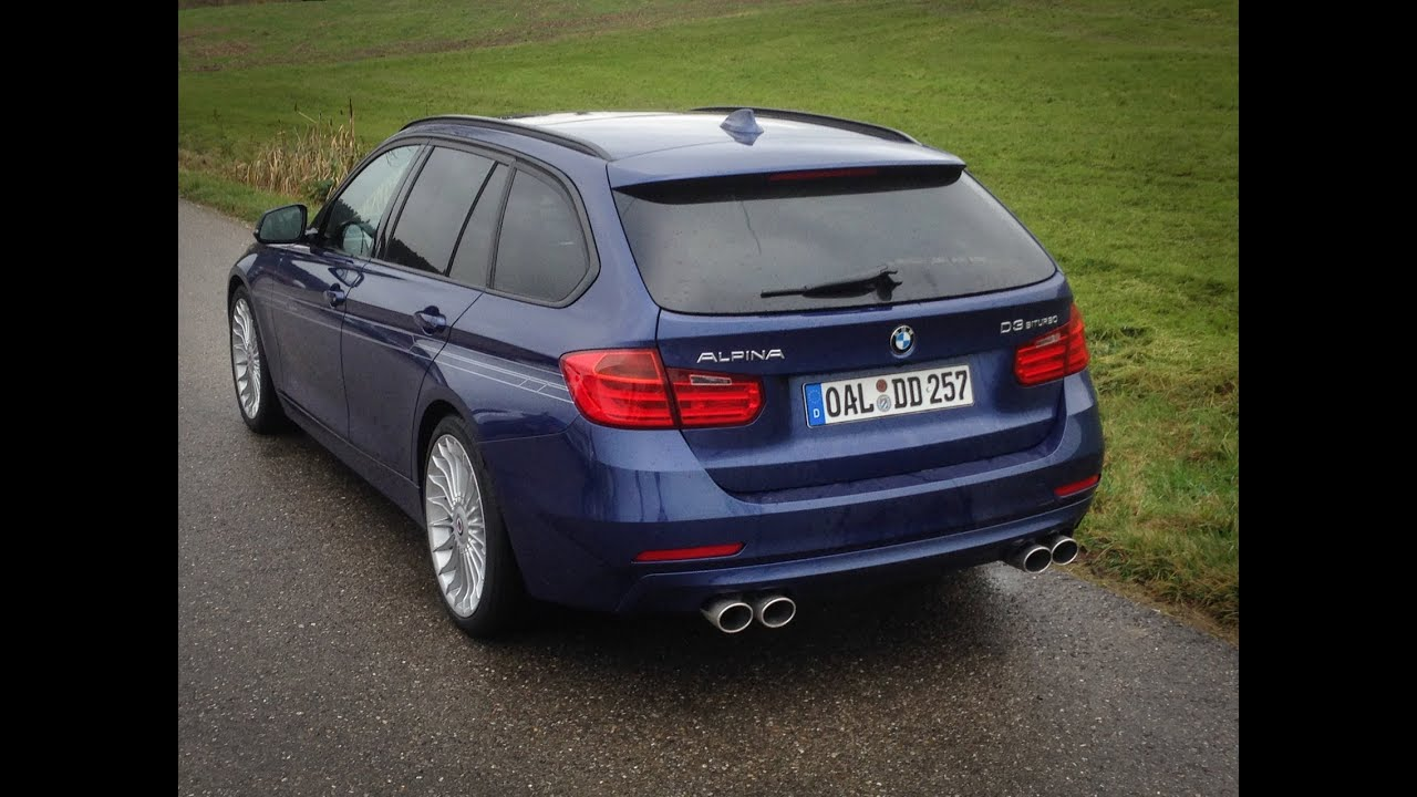 Bmw Alpina D3 Biturbo Touring And Bmw 335d Xdrive Sound And Acceleration Youtube