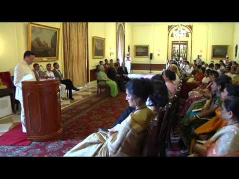 President presenting Annual Tagore Award for Cultural Harmony-2013 to Maestro Zubin Mehta - Part 2