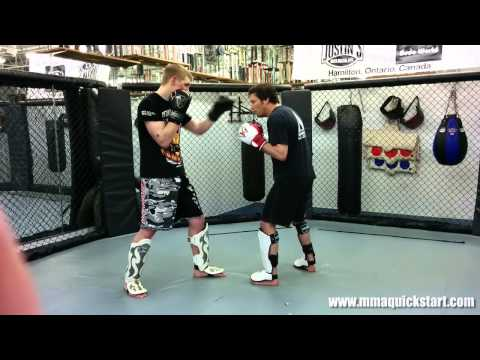 Throwing the Uppercut Punch - 3 Sparring Applications - MMA - Boxing - Muay Thai Techniques Image 1