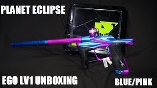 Planet Eclipse EGO LV1 Paintball Gun Unboxing