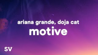 Ariana Grande, Doja Cat - Motive