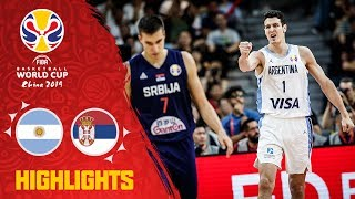 Argentina v Serbia - Highlights - Quarter-Final - FIBA Basketball World Cup 2019
