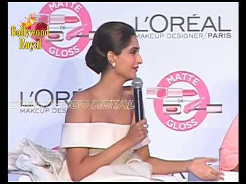 Sonam Kapoor, Katrina Kaif Unveil New Cannes Collection together with L'Oreal Part 2